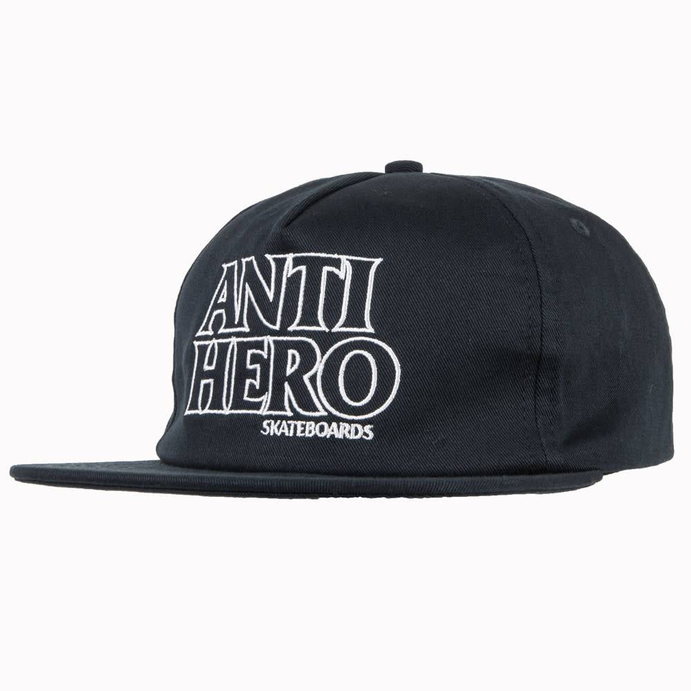 Anti Hero Blackhero Outline Navy Snapback