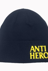 Anti Hero Blackhero EMB Navy Cuff Beanie