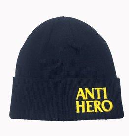 Anti Hero Blackhero EMB Navy Cuff Beanie