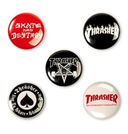 Thrasher Mag. Thrasher Buttons Pack
