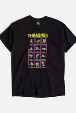 Thrasher Mag. Black Light Tee Black
