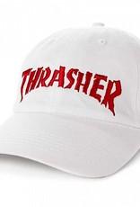 Thrasher Mag. Neckface Invert Old Timer Hat White