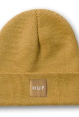 HUF Box Logo Beanie Mustard