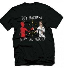 Toy Machine Bury The Hatchet Black Tee