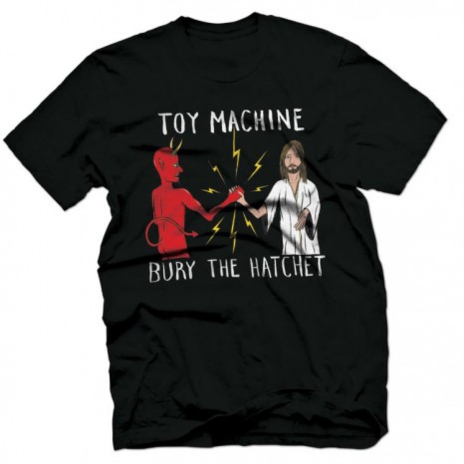 Toy Machine Bury The Hatchet Black Tee