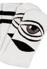 Toy Machine Sect Eye Sock White