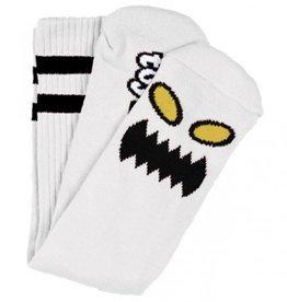 Toy Machine Monster Face Sock White