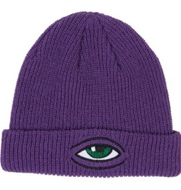 Toy Machine Sect Eye Dock Beanie Purple