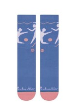 Stance Socks Dance With Me Blue Large