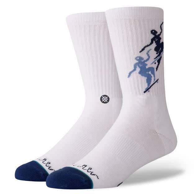 Stance Socks Pontus White Large