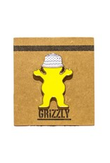 Grizzly Griptape Bucket Bear Pin