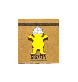 Grizzly Griptape Bucket Bear Pin