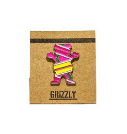 Grizzly Griptape Hover Bear Pin