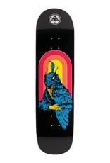 "Welcome Skateboards Mothman on Big Bunyip Black 8.5"""