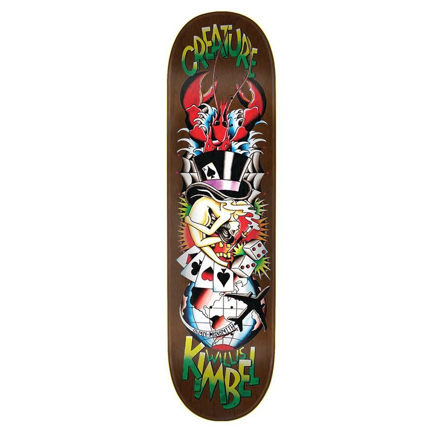 Creature Skateboards Kimbel Upside Downer 8.8