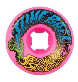 Santa Cruz Skateboards Slime Balls Vomit Mini Neon Pink 56mm