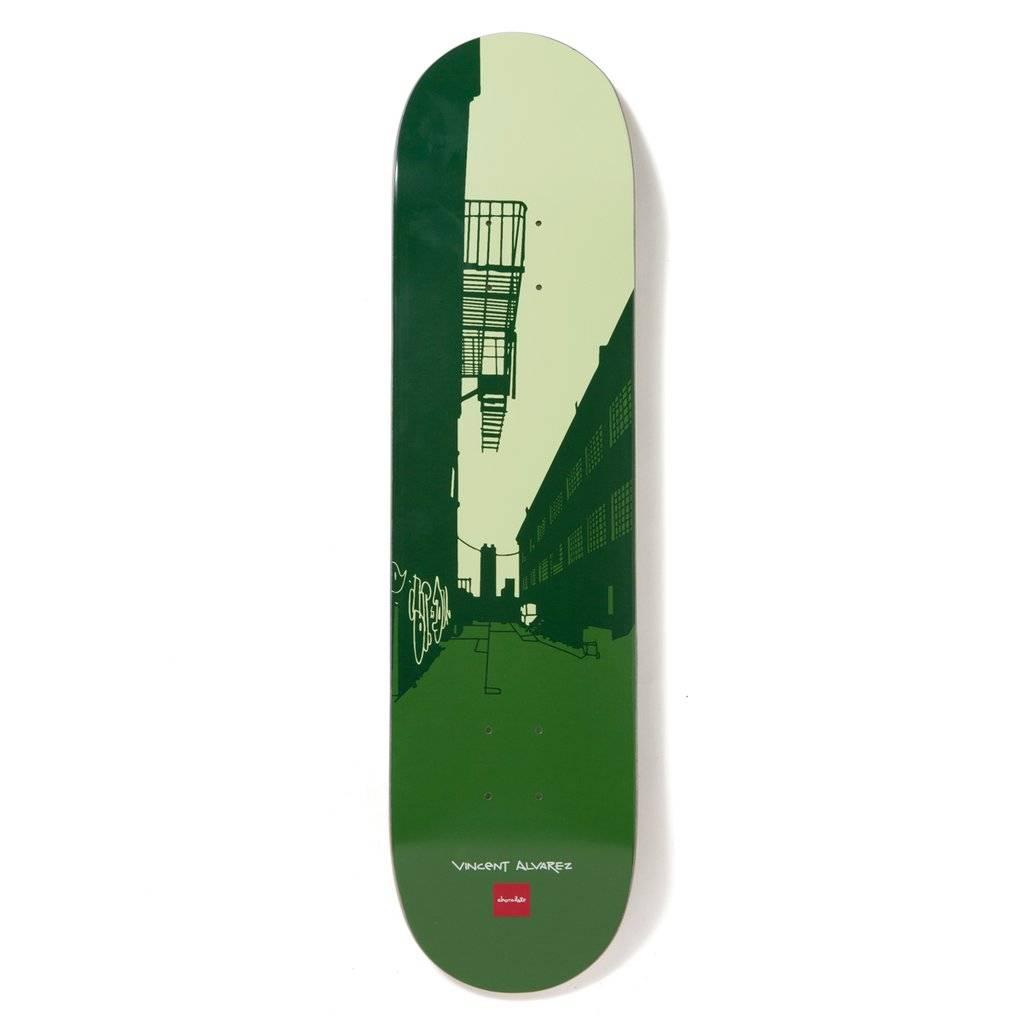"Chocolate Skateboards Alvarez City Series 8.0"""