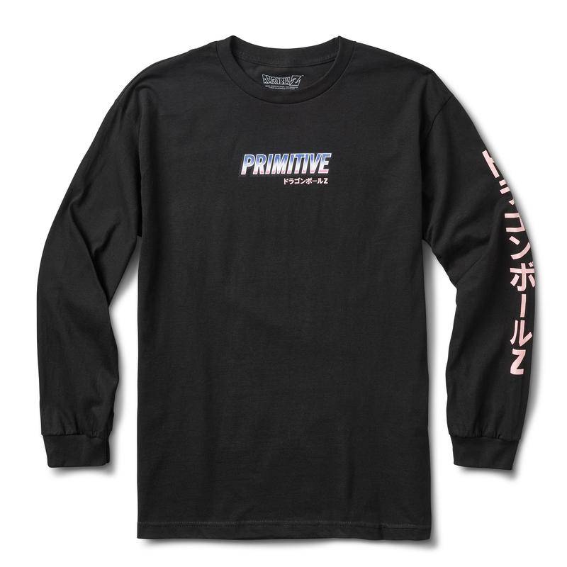 Primitive Frieza Mecha LS Black Tee