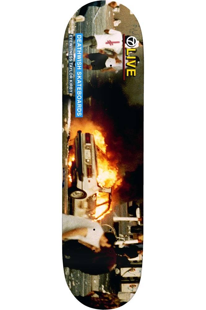 "Deathwish Skateboards TK Riots 8.38"""
