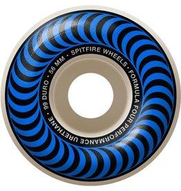 Spitfire Wheels Spitfire F4 99d Classic Blue 56mm