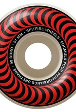 Spitfire Wheels Spitfire F4 99d Classic Red 51mm