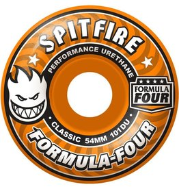 Spitfire Wheels Spitfire F4 101d Agent Orange Classic 54mm