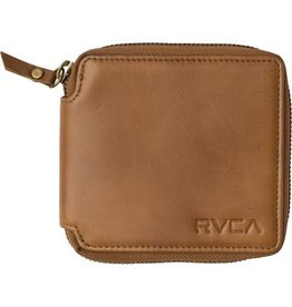 RVCA Zip Around Wallet Tan