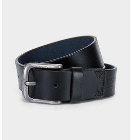 RVCA Truce Leather Belt Black S/M