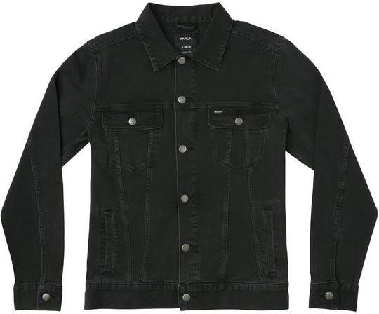 RVCA Daggers Jacket Black