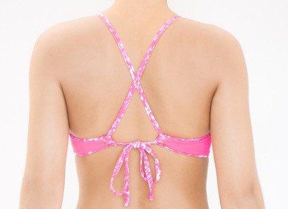 Pualani Reversible Sport Tie Pink Tie Dye