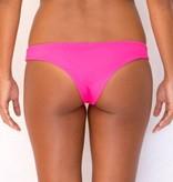 Pualani Reversible Skimpy Brazil Hot Pink Solid
