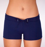 Pualani Hot Pant Navy Solid