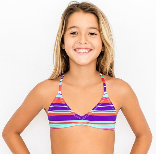 Pualani Mini Mermaid Sport Tie Santorini