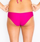 Pualani Mini Mermaid Scrunch Fuschia Solid