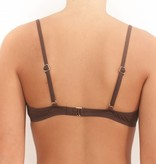 Pualani Bra Top Chocolate Solid