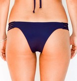 Pualani Skimpy Rio w/ Side Strings Navy Solid