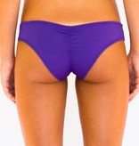 Pualani Scrunch Bootie Purple Solid