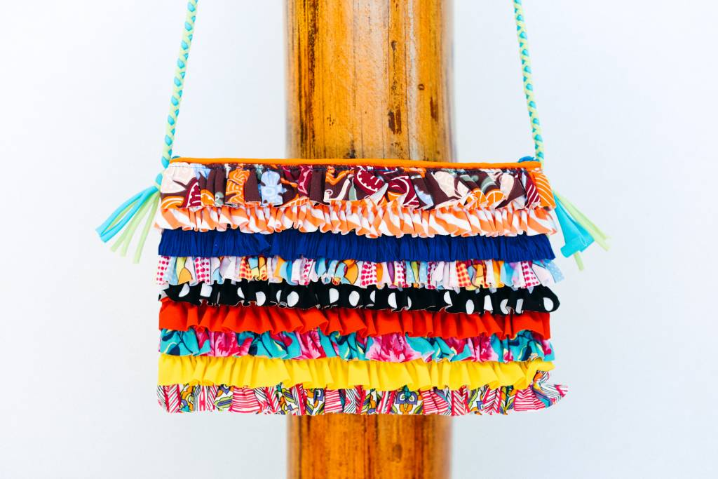 Pualani Clutch w/ Braided Strap