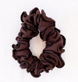 Pualani Scrunchie Chocolate Solid