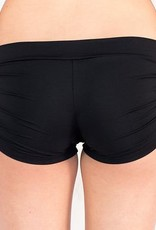 Pualani Drawstring Short Black Solid
