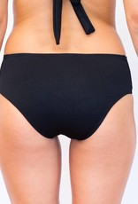 Pualani Full Bottom Black Solid
