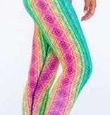 Pualani Yoga Leggings Matrix