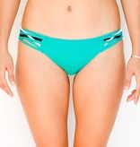 Pualani Scoop w/ Side Strings Sea Green Tri Color