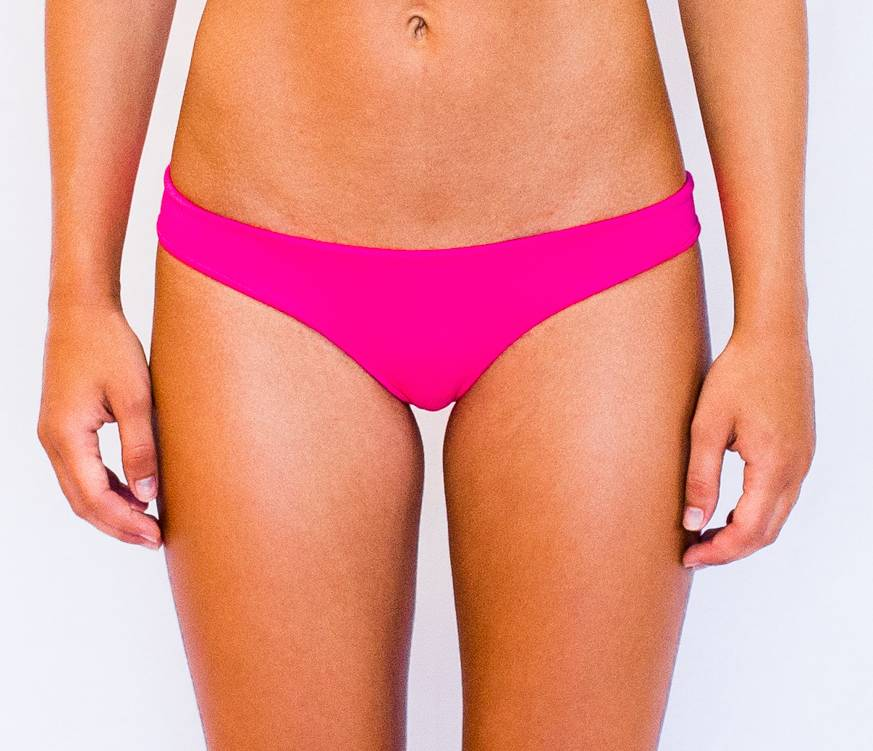 Pualani Reversible Thong Hot Pink