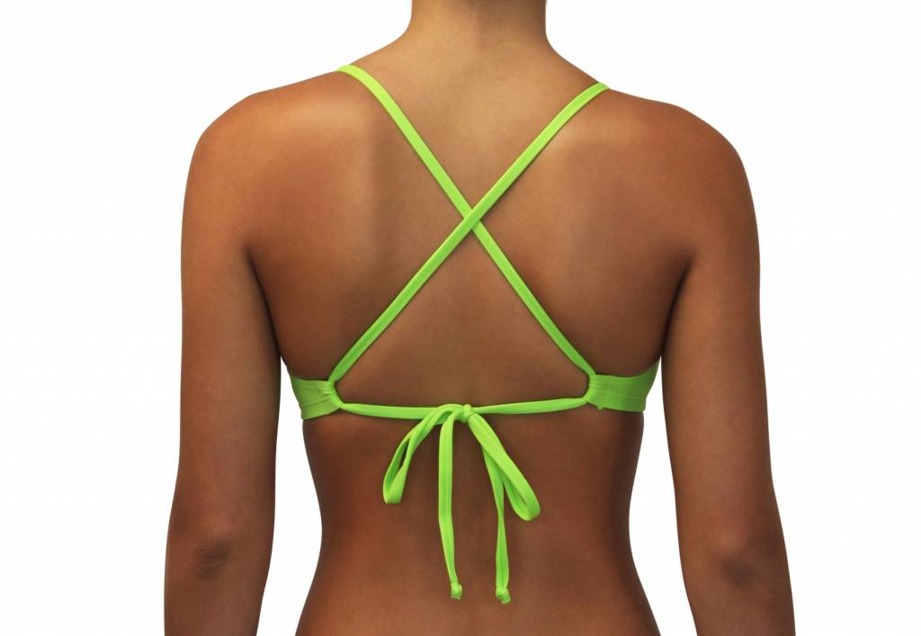 Pualani Sport Tie Lime Green