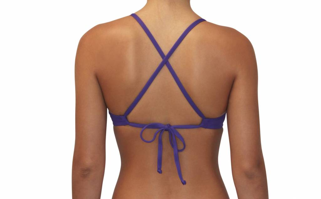 Pualani Sport Tie Purple Solid