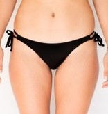 Pualani Skimpy Double Tie Black Solid
