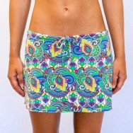 Pualani Short Drawstring Skirt Fantasea