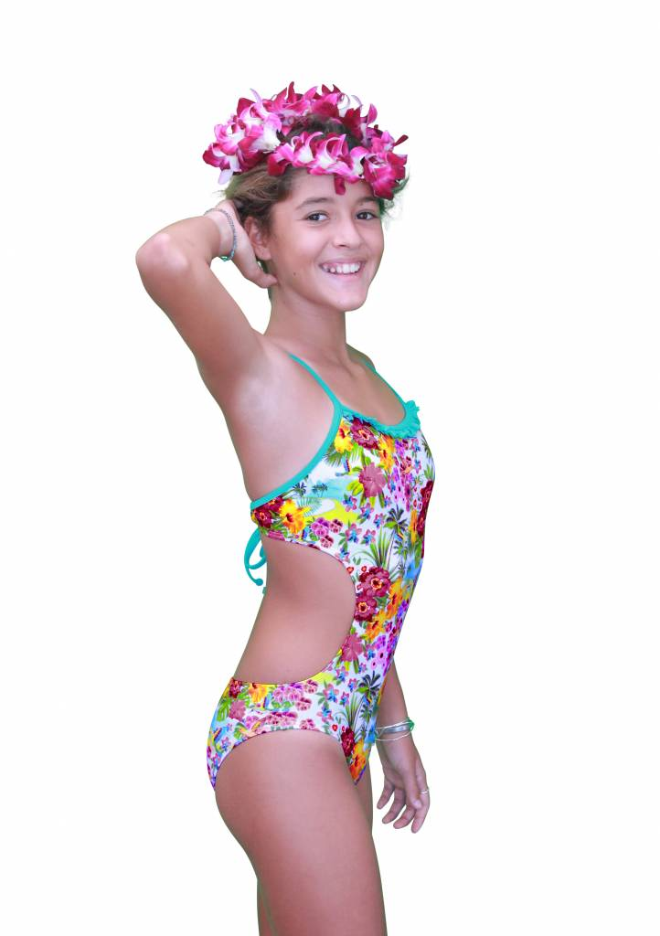Pualani Mini Mermaid Sport One Piece Nectar