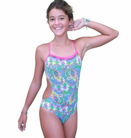 Pualani Mini Mermaid Sport One Piece Fantasea